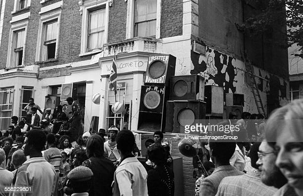 Notting Hill Carnival London August 1975