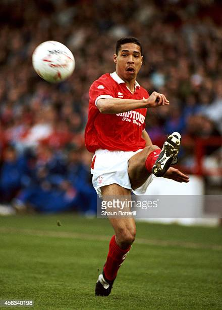 Nottingham Forest defender Des Walker in action during a League Division One match between Nottingham Forest and Chelsea at City Ground on April 20...
