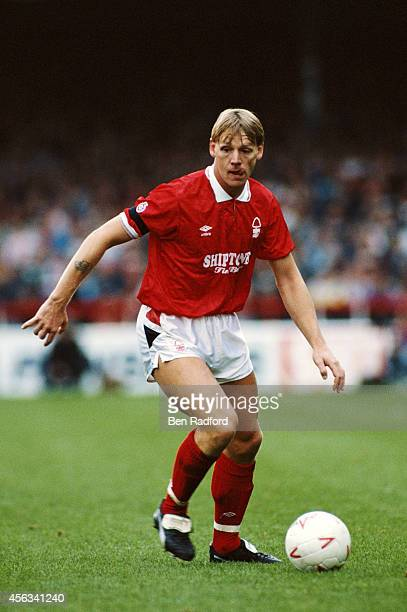 Nottingham Forest defender Stuart Pearce in action during a League Division One match between Nottingham Forest and Everton at City Ground on October...
