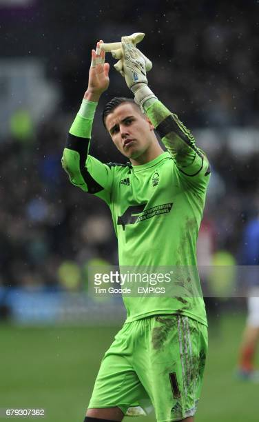 Nottingham Forest goalkeeper Karl Darlow looks dejected as he applauds the away fans after the final whistle