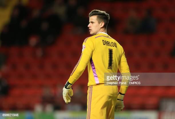 Nottingham Forest goalkeeper Karl Darlow