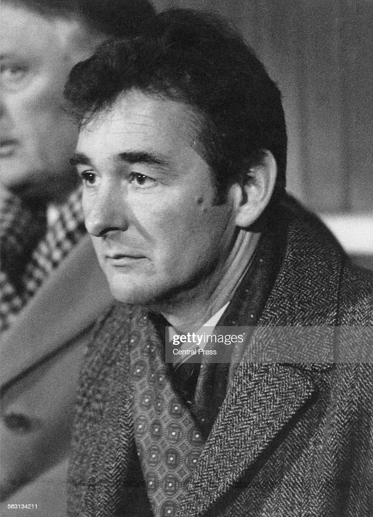 Nottingham Forest manager Brian Clough 1979