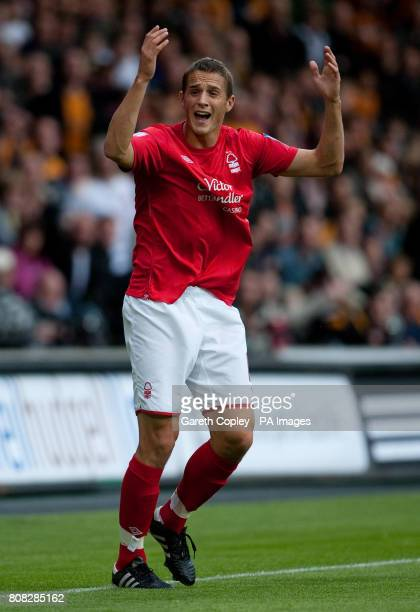 Nottingham Forest's Chris Cohen during the npower Football League Championship match at the KC Stadium Hull