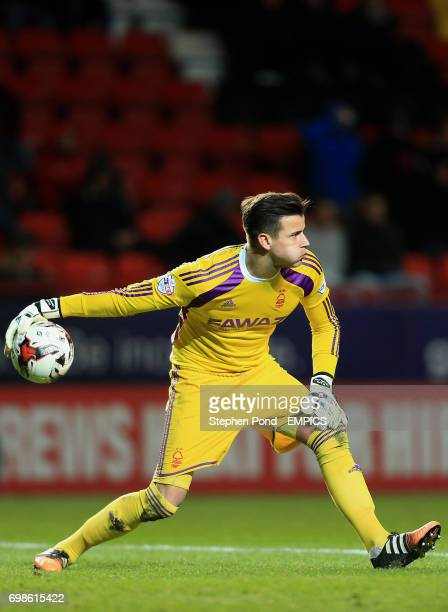 Nottingham Forest's Karl Darlow in action