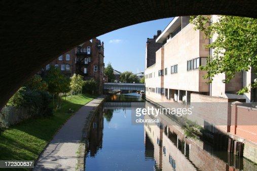 Nottingham under the bridge