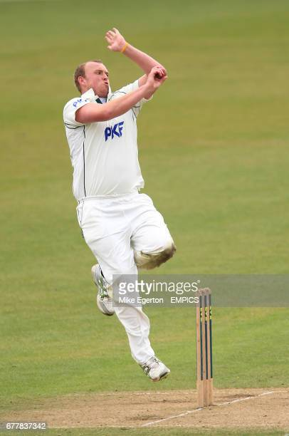 Nottinghamshire's Luke Fletcher in action