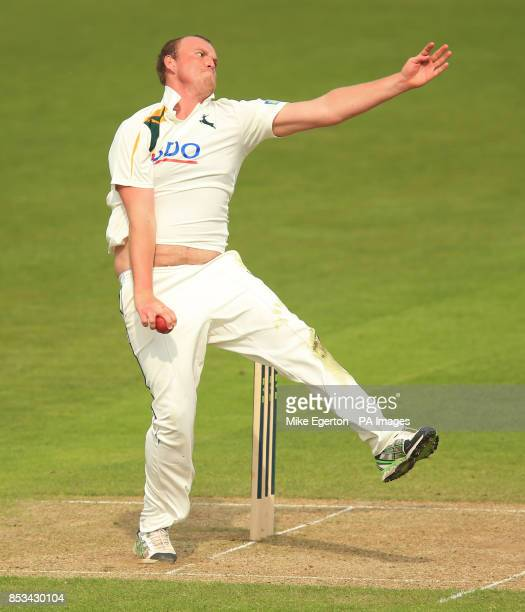 Nottinghamshire's Luke Fletcher