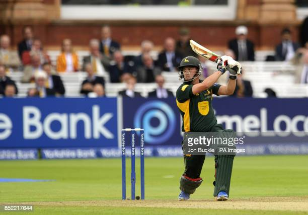 Nottinghamshire's Steven Mullaney during the Yorkshire Bank Pro40 Final at Lord's Cricket Ground London