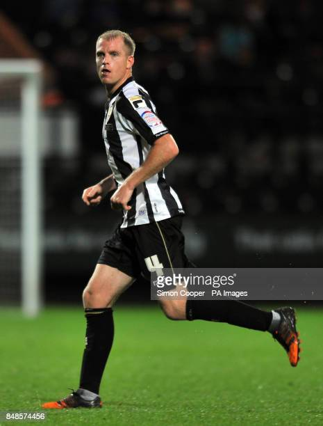 Notts County's Ian Bishop during the npower League One match at Meadow Lane Nottingham