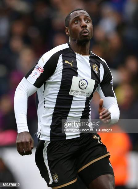 Notts County's Jonathan Forte during the match at Meadow Lane Nottingham