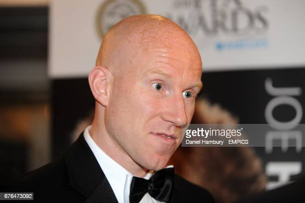 Notts County's Lee Hughes arrives at the PFA Player of the Year Awards 2010 at the Grosvenor House Hotel London