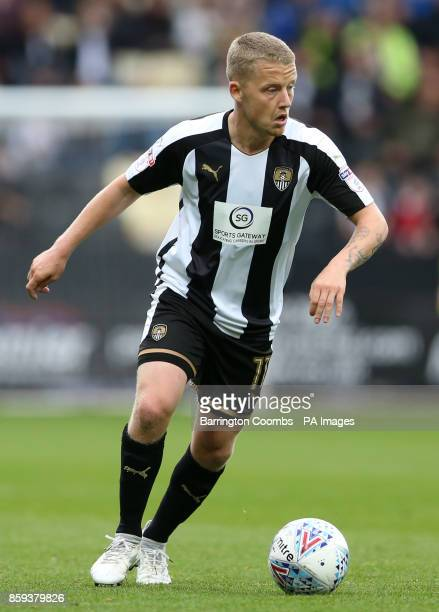 Notts County's Terry Hawkridge during the match at Meadow Lane Nottingham