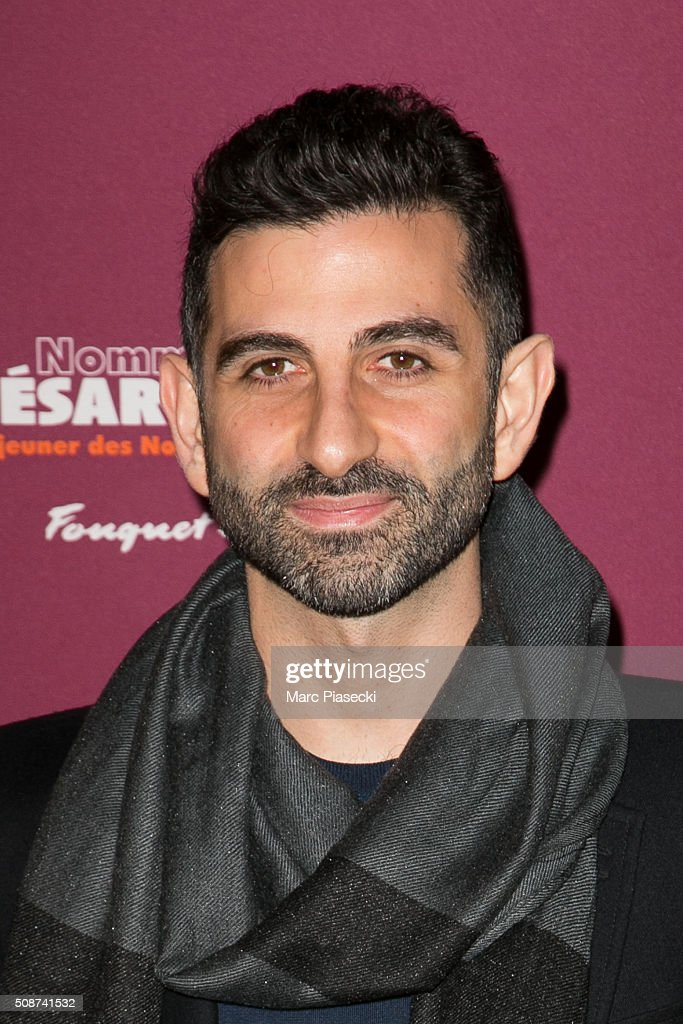 Nouchi Tabib a.k.a. Kheiron attends the 'Cesar 2016- Nominee luncheon' at Le Fouquet's on February 6, 2016 in Paris, France.