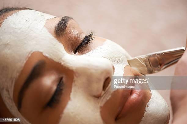 Nourrissant la peau