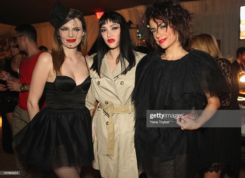 Nouvelle Vague attends Pavan A La Plage at Soho Beach House on December 7, 2012 in Miami Beach, Florida.