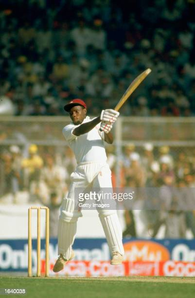 Richie Richardson of the West Indies in action during a World Cup match against Pakistan in Pakistan Mandatory Credit Allsport UK /Allsport