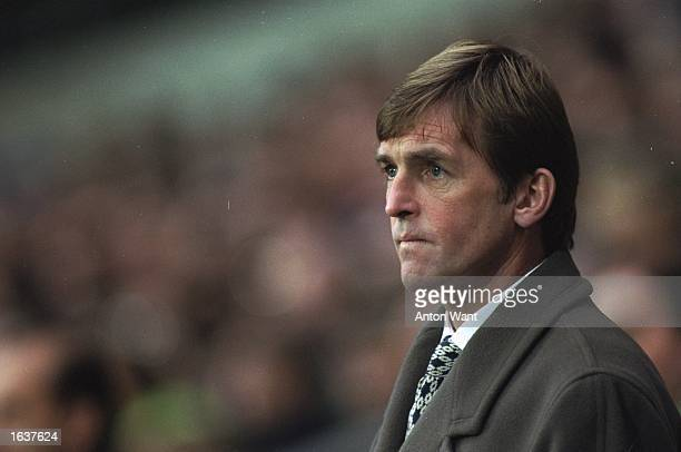 Portrait of Blackburn Rovers Manager Kenny Dalglish during an FA Carling Premiership match against Queens Park Rangers at Ewood Park in Blackburn...