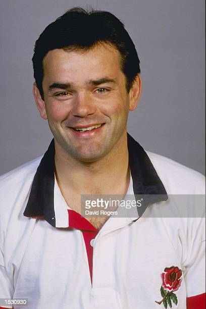 A portrait of Will Carling of England taken during the team photocall at Bisham Abbey in Marlow Mandatory Credit David Rogers/Allsport