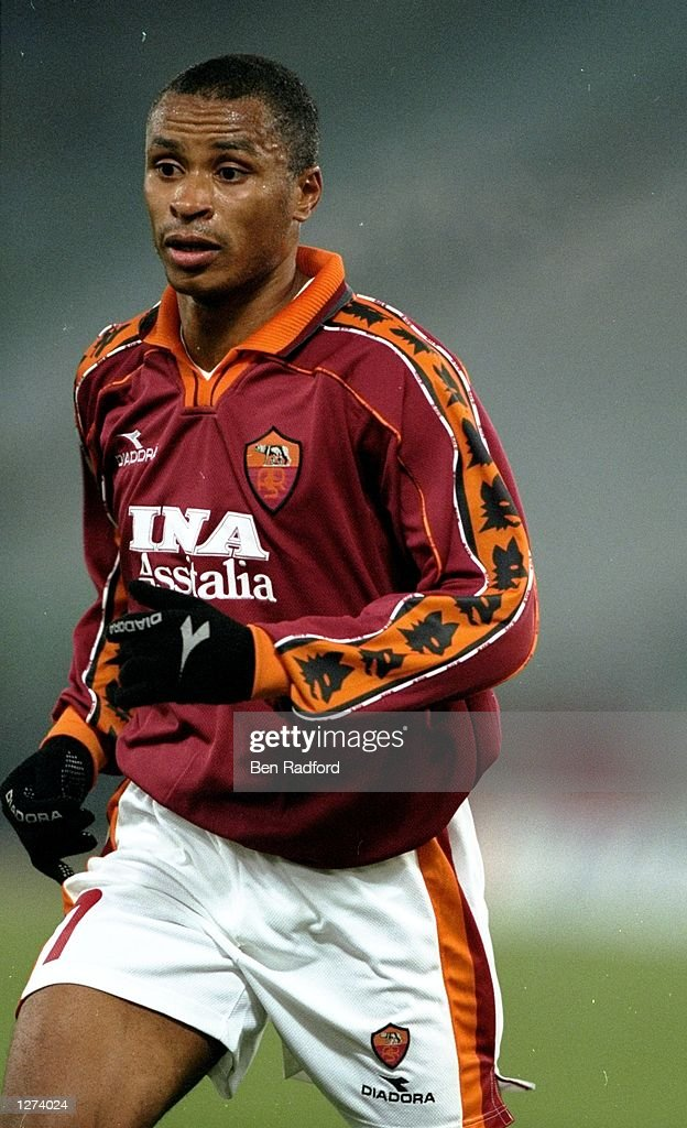 Paulo Sergio of Roma during the UEFA Cup third round first leg match FC Zurich at the Stadio Olimpico in Rome Roma won 10 Mandatory Credit Ben...
