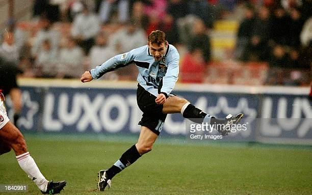 Pavel Nedved of Lazio in action during the Italian Serie A match against Milan in Milan Italy Milan won the game 10 Mandatory Credit Allsport UK...