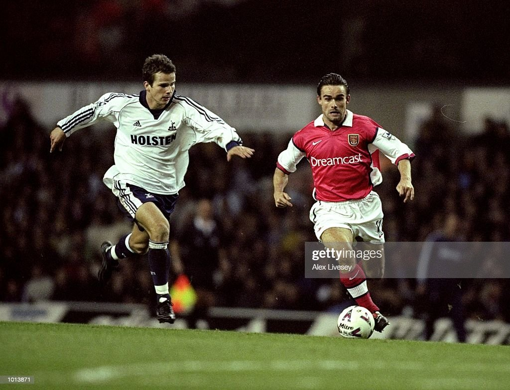 Marc Overmars and Stephen Clemence