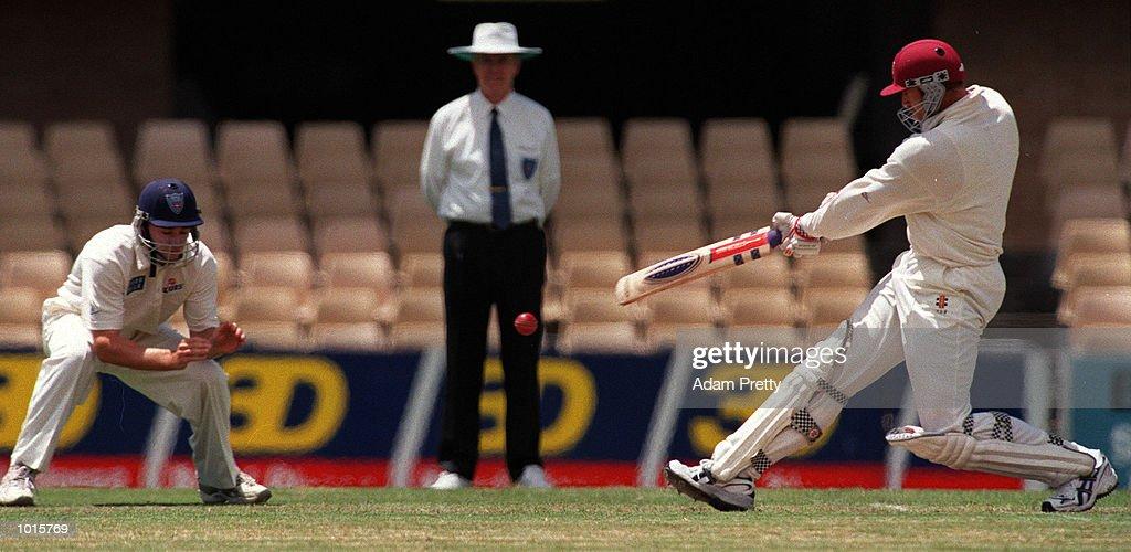 Matthew Hayden of Queensland in action during the 1999/2000 Pure Milk cup match between New South Wales v Queensland at Sydney Cricket Ground,Sydney Australia. Mandatory Credit: Adam Pretty/ALLSPORT