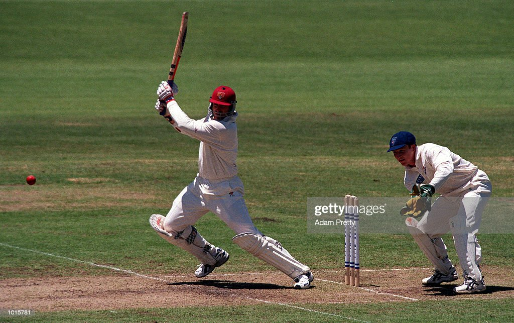 Matthew Hayden of Queensland in action during the 1999/2000 Pure Milk cup match between New South Wales v Queensland at Sydney Cricket Ground,Sydney Australia. Mandatory Credit: Adam Pretty/ALLSPORT
