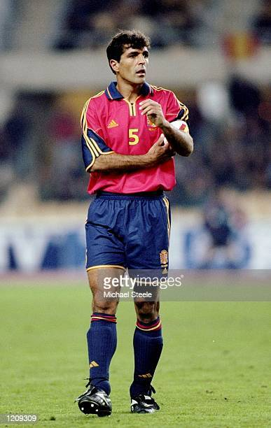 Miguel Angel Nadal of Spain during the International Friendly against Argentina at the Olympic Stadium in Seville Spain Mandatory Credit Michael...