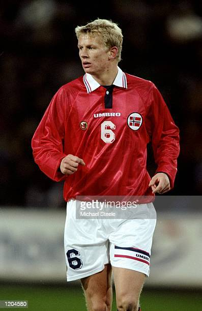 Steffen Iversen of Norway during the International Friendly against Germany at the Ullevaal Stadium in Oslo Norway Germany won 10 Mandatory Credit...
