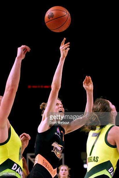 Alison O''Dwyer of the Panthers in action during the Sydney Paragon Panthers v Dandenong Rangers match held at the Sydney Superdome in Sydney...