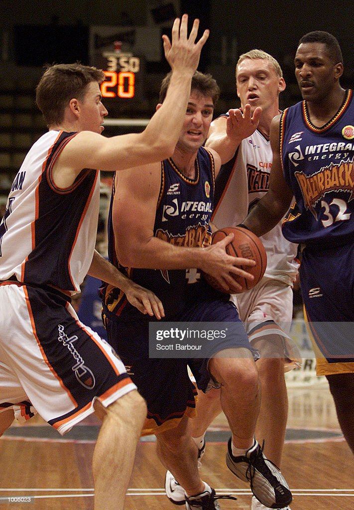Ben Arkell #4 of the Razorbacks in action during the NBL match between the West Sydney Razorbacks and the Cairns Taipans held at the State Sports Centre in Sydney, Australia. DIGITAL IMAGE. Mandatory Credit: Scott Barbour/ALLSPORT