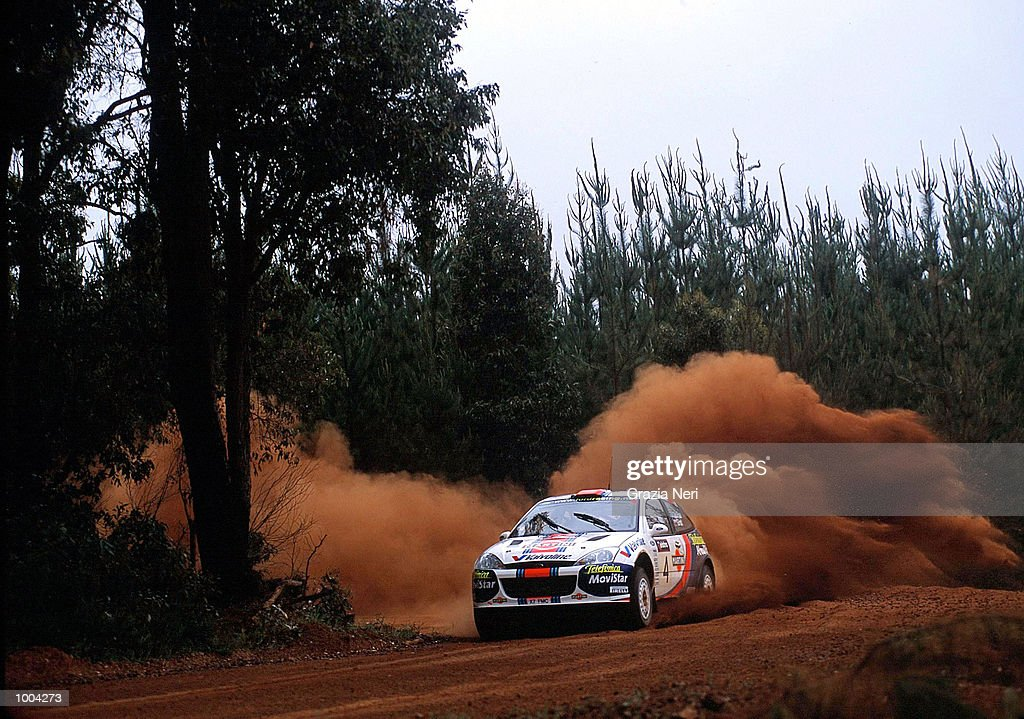 Colin McRae puts his Ford Focus to the test during the Telstra Rally Australia at Perth, Australia. The race was the penumltimate of the seasons World Rally Championship. DIGITAL IMAGE Mandatory Credit: GRAZIA
