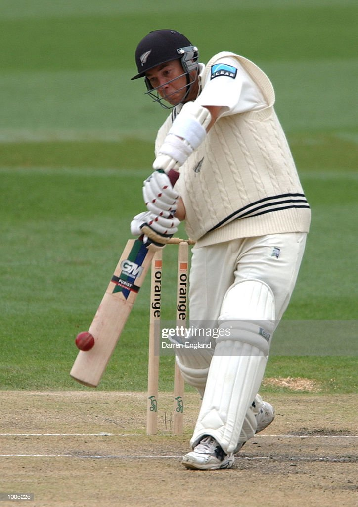 Craig McMillan of New Zealand in action against Australia during day four of the first Cricket test between Australia and New Zealand played at the Gabba in Brisbane, Australia. DIGITAL IMAGE. Mandatory Credit: Darren England/ALLSPORT