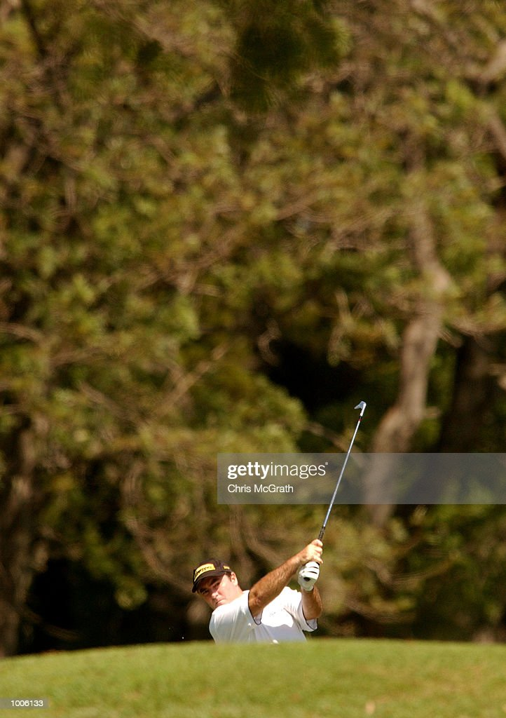 Craig Parry of Australia in action during the third round of the Australian PGA Championships being played at Royal Queensland Golf Club, Brisbane, Australia. DIGITAL IMAGE Mandatory Credit: Chris McGrath/ALLSPORT