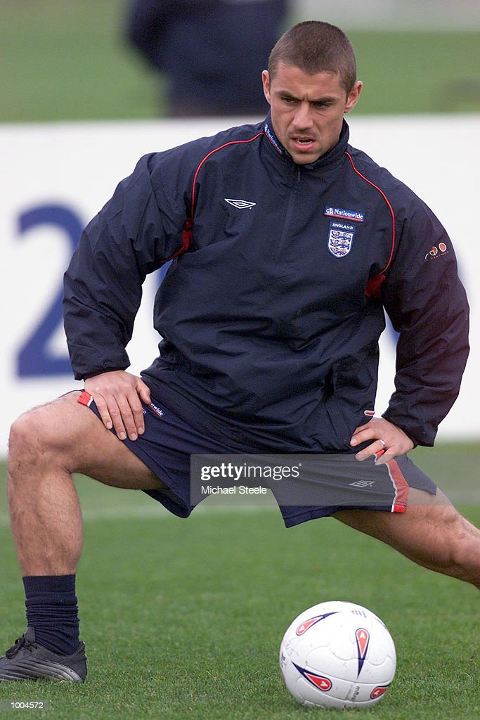 England's Kevin Phillips during England training at Carrington, Manchester. DIGITAL IMAGE. Mandatory Credit: Michael Steele/ALLSPORT