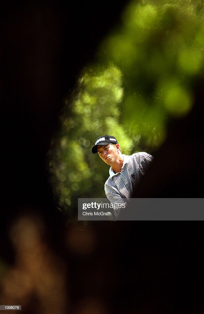 Ernie Rose of Australia plays his second shot on the 2nd fairway during the third round of the Australian PGA Championship being played at Royal Queensland Golf Club in Brisbane, Australia. DIGITAL IMAGE. Mandatory Credit: Chris McGrath/ALLSPORT