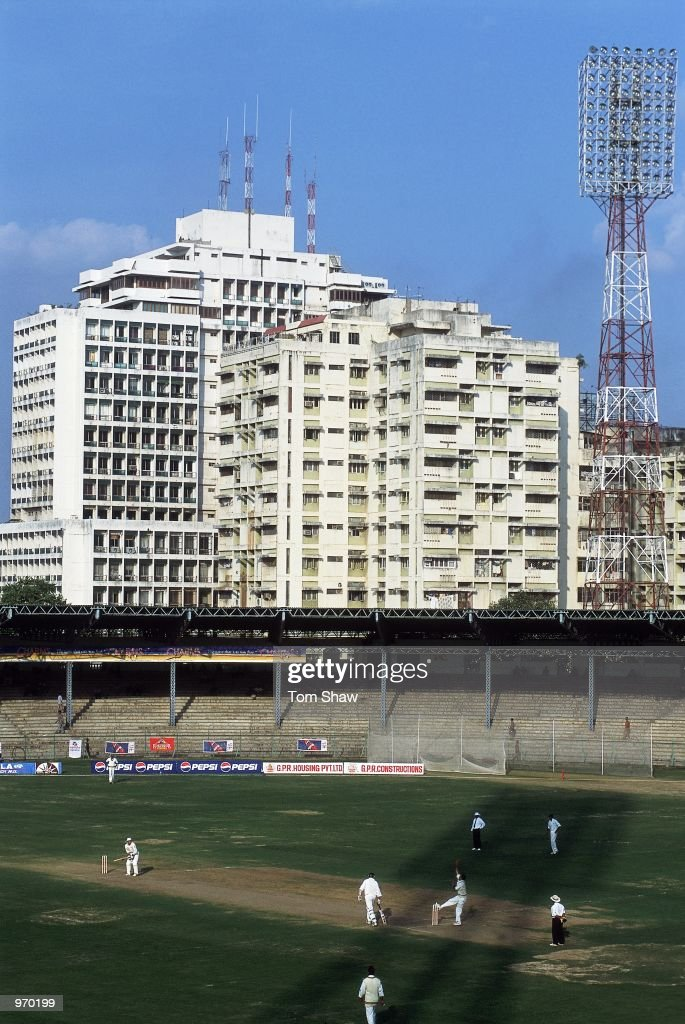 General view taken during the Tour Match between the Indian Board and England played at the Lal Bahadur Stadium in Hyderabad India Mandatory Credit...