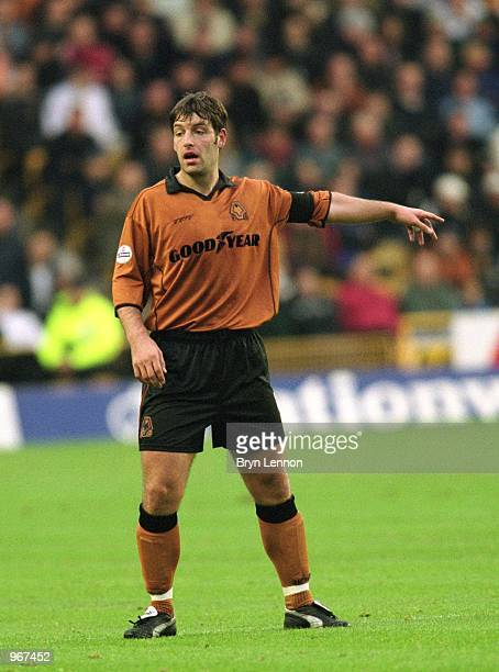Paul Butler of Wolverhampton Wanderers in action during the Nationwide League Division One match against Sheffield Wednesday played at Molineux in...