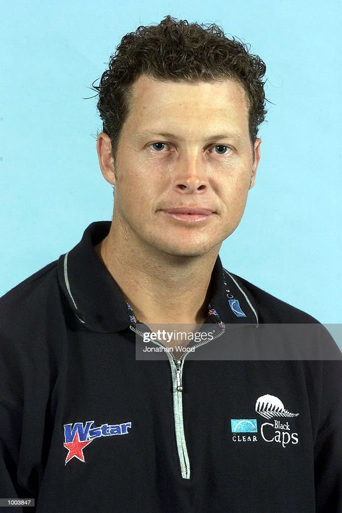 Paul Wiseman of the New Zealand Black Caps cricket team poses for a photogragh at the Gabba, Brisbane, Australia. DIGITAL IMAGE Mandatory Credit: Jonathan Wood/ALLSPORT