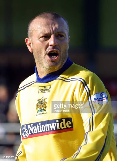 Portrait of Neil Redfern of Halifax taken during the Nationwide League Division Three match played between Rushden Diamonds and Halifax Town at The...