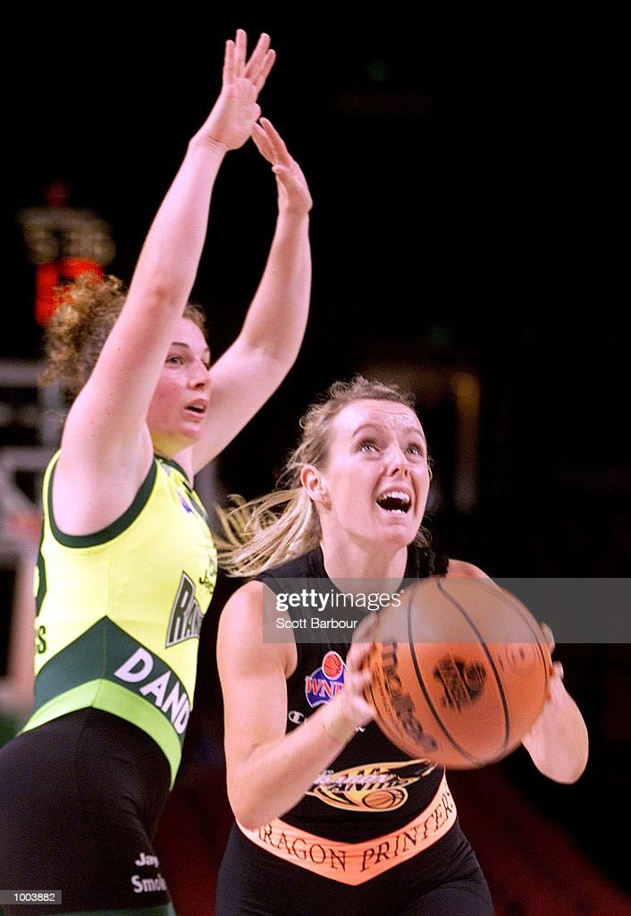 Rebecca Mackinnon #6 of the Panthers in action during the Sydney Paragon Panthers v Dandenong Rangers match held at the Sydney Superdome in Sydney, Australia. DIGITAL IMAGE. Mandatory Credit: Scott Barbour/ALLSPORT