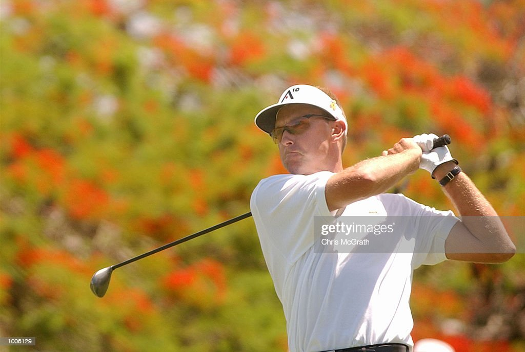 Robert Allenby of Australia in action during the third round of the Australian PGA Championships being played at Royal Queensland Golf Club, Brisbane, Australia. DIGITAL IMAGE Mandatory Credit: Chris McGrath/ALLSPORT