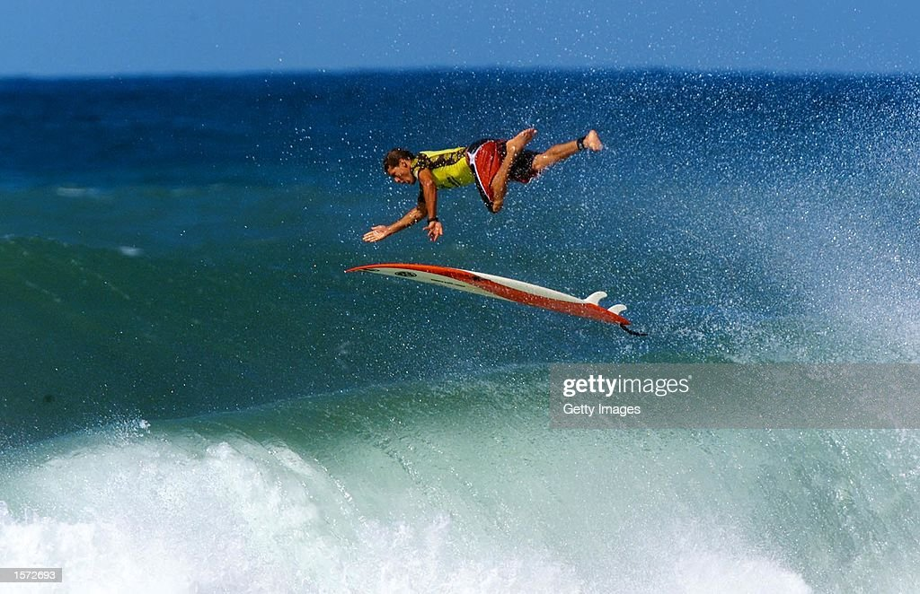 The GShock Hawaiian Pro Alii Beach Haleiwa Oahu Hawaii November 1325 2001 Current Association of Surfing Professionals world number six Andy Irons...