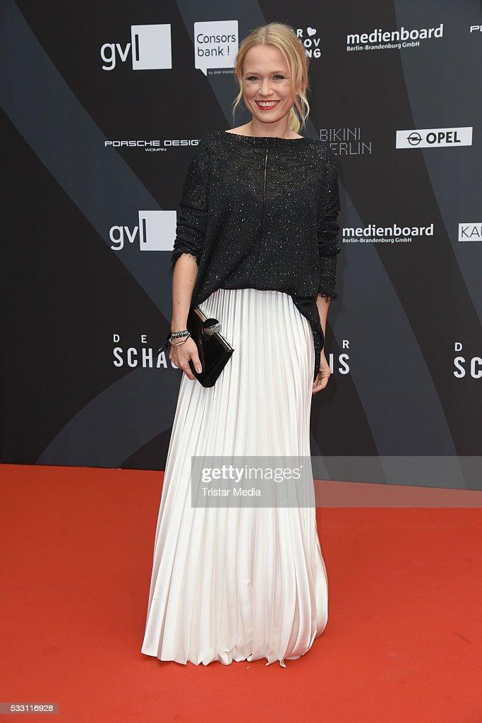 Nova Meierhenrich attends the Deutscher Schauspielerpreis 2016 on May 20, 2016 in Berlin, Germany.