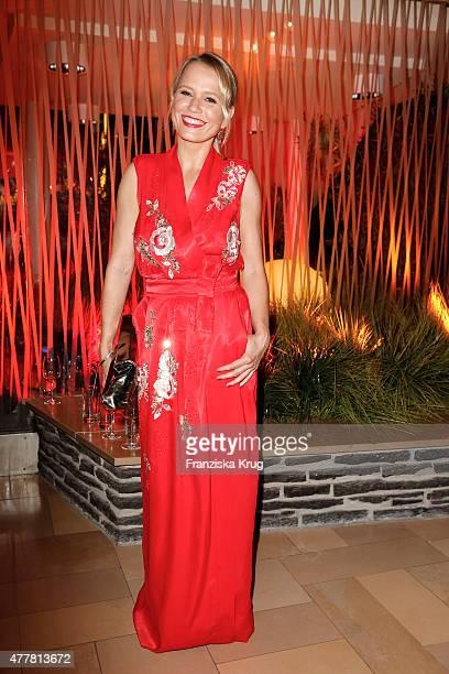 Nova Meierhenrich attends the German Film Award 2015 Lola party at Palais am Funkturm on June 19 2015 in Berlin Germany