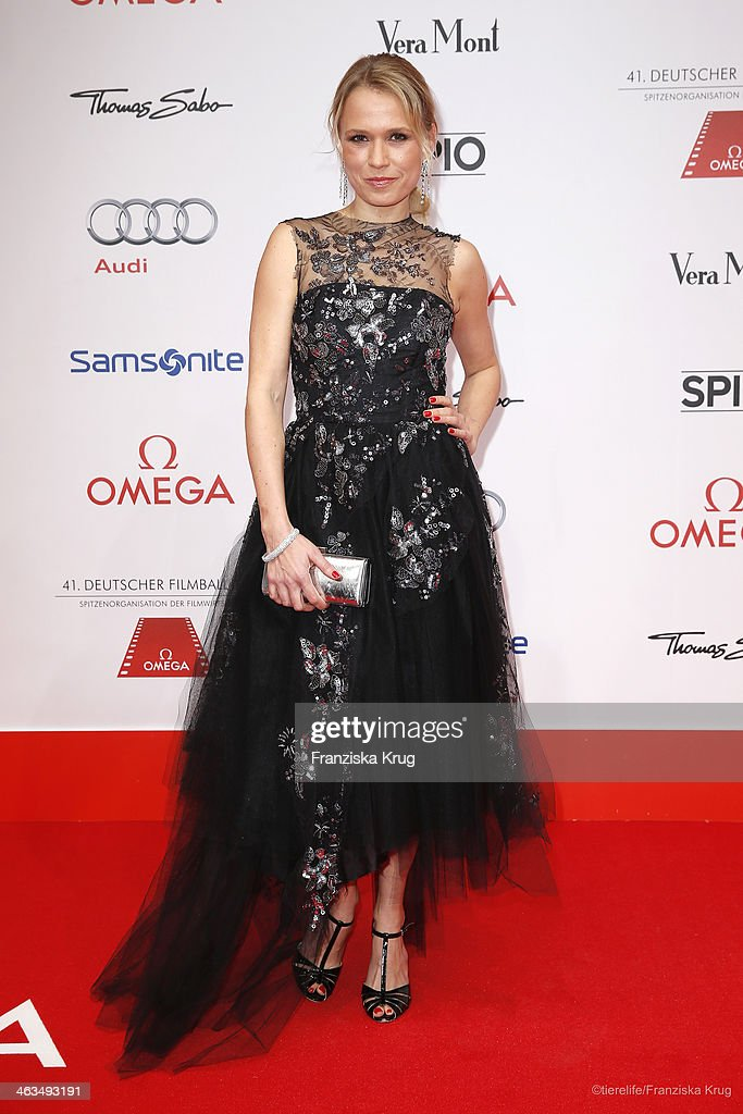 <a gi-track='captionPersonalityLinkClicked' href=/galleries/search?phrase=Nova+Meierhenrich&family=editorial&specificpeople=215062 ng-click='$event.stopPropagation()'>Nova Meierhenrich</a> attends the German Film Ball 2014 (Deutscher Filmball) on January 18, 2014 in Munich, Germany.
