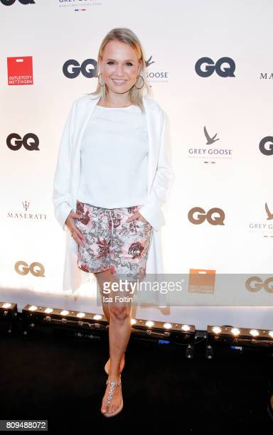Nova Meierhenrich attends the GQ Mension Style Party 2017 at Austernbank on July 5 2017 in Berlin Germany