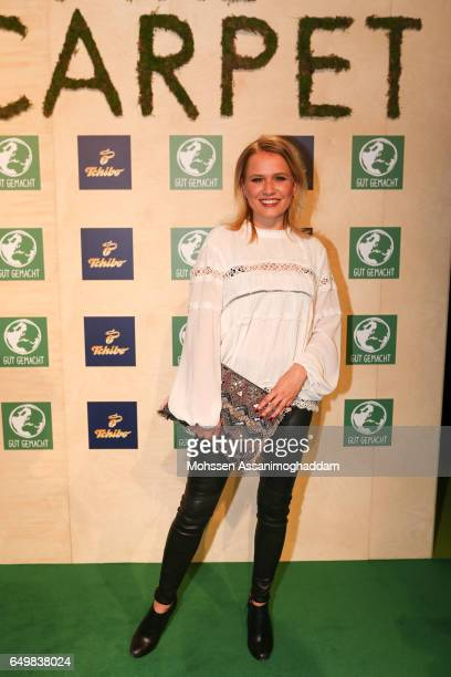 Nova Meierhenrich attends the Green Carpet Event of Tchibo on March 8 2017 in Hamburg Germany