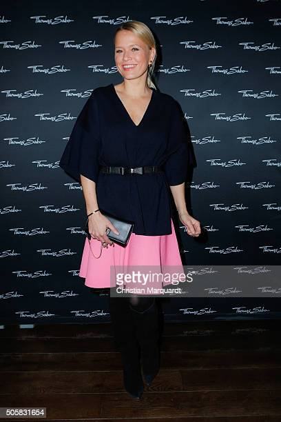 Nova Meierhenrich attends the Thomas Sabo Press Cocktail event on January 20 2016 in Berlin Germany