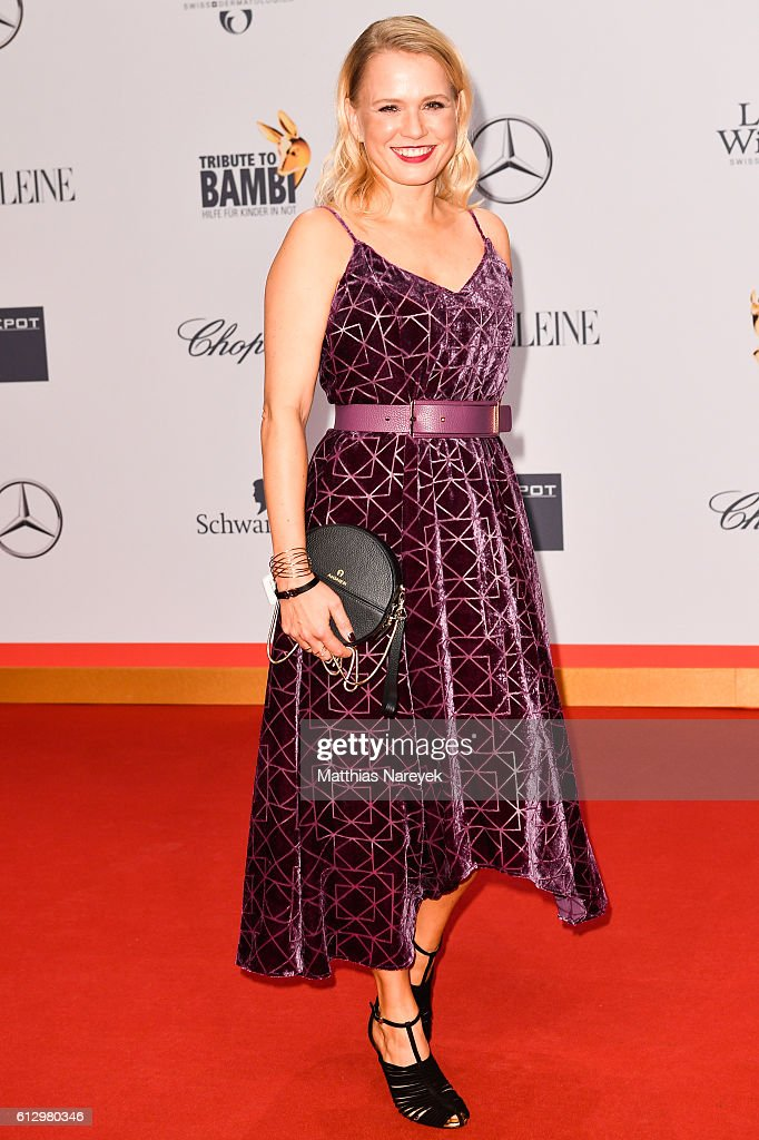 Nova Meierhenrich attends the Tribute To Bambi at Station on October 6, 2016 in Berlin, Germany.